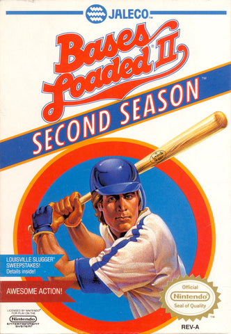 Bases Loaded 2 Second Season (Nintendo NES, 1990)