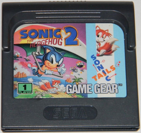 Sonic The Hedgehog 2 Sega Game Gear 1992 Red Ant Retro