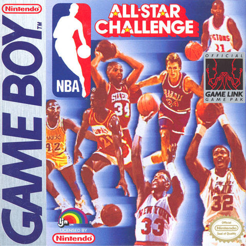 NBA All-Star Challenge (Nintendo Game Boy, 1991)