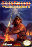 Wizards & Warriors 2: Iron Sword (Nintendo NES, 1989)