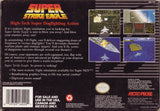 Super Strike Eagle (Nintendo SNES, 1993)