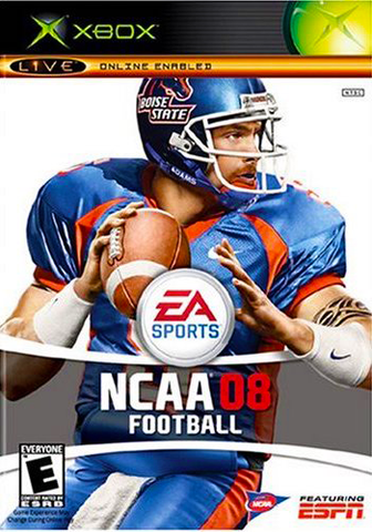 NCAA Football 2008 (Microsoft Xbox, 2007)