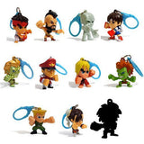 Street Fighter Backpack Hangers - Keychains (Just Toys)