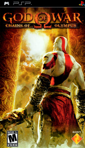 God of War: Chains of Olympus (Sony PlayStation Portable, 2008)