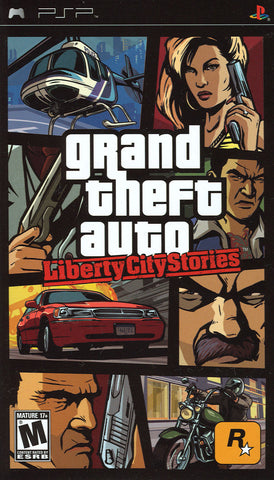 Grand Theft Auto: Liberty City Stories (Sony PlayStation Portable, 2005)