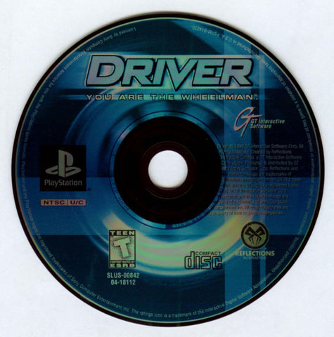 Driver: You Are The Wheelman (Sony PlayStation, 1999)