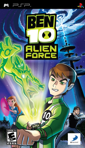 Ben 10 Alien Force (Sony PlayStation Portable, 2008)