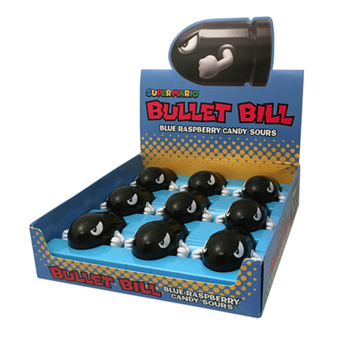 Super Mario Bros. Bullet Bill Tin - Candy