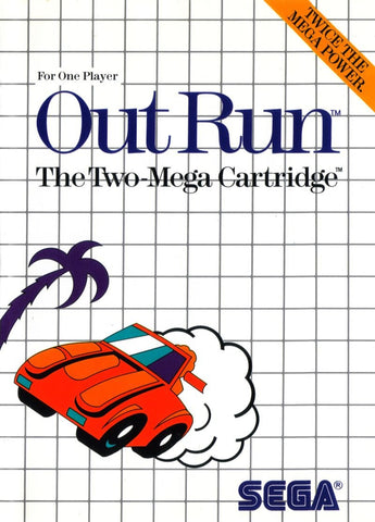 Out Run (Sega Master System, 1987)