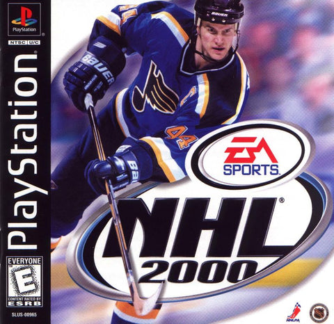 NHL 2000 (Sony PlayStation, 1999)