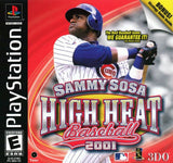 Sammy Sosa High Heat Baseball 2001 (Sony PlayStation, 2000)