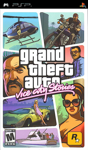 Grand Theft Auto: Vice City Stories (Sony PlayStation Portable, 2006)