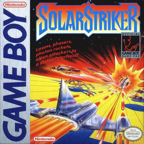 SolarStriker (Nintendo Game Boy, 1990)