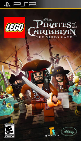 Lego Pirates of the Caribbean: The Video Game (Sony PlayStation Portable, 2011)