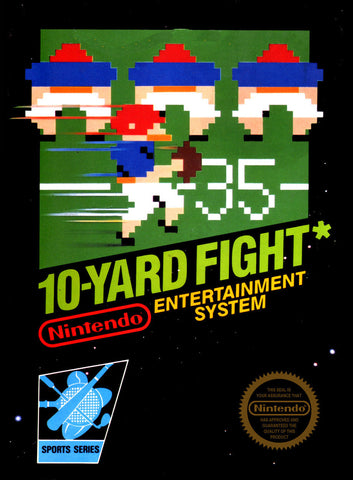 10-Yard Fight (Nintendo NES, 1985)