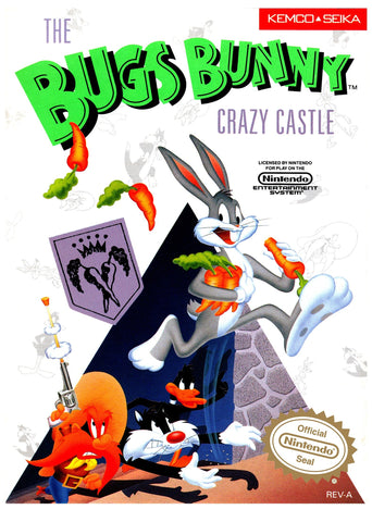 Bugs Bunny Crazy Castle, The (Nintendo NES, 1989)