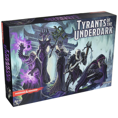 Dungeons & Dragons: Tyrants of The Underdark - Board Game (Gale Force Nine)
