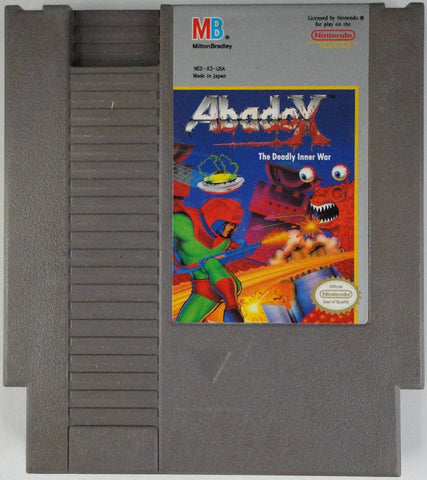 Abadox: The Deadly Inner War (Nintendo NES, 1990)