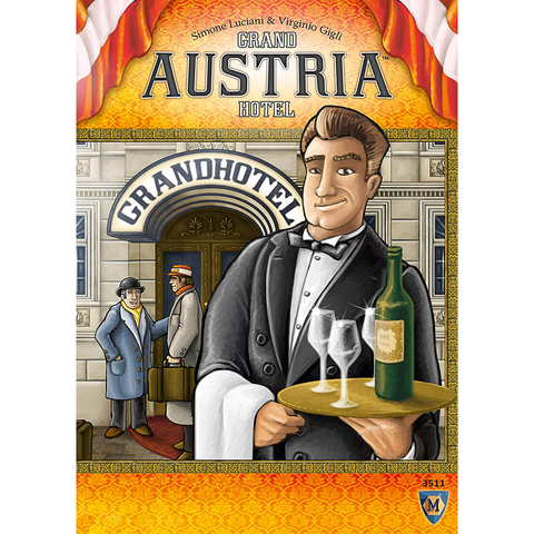 Grand Austria Hotel - Board Game (Mayfair Games)