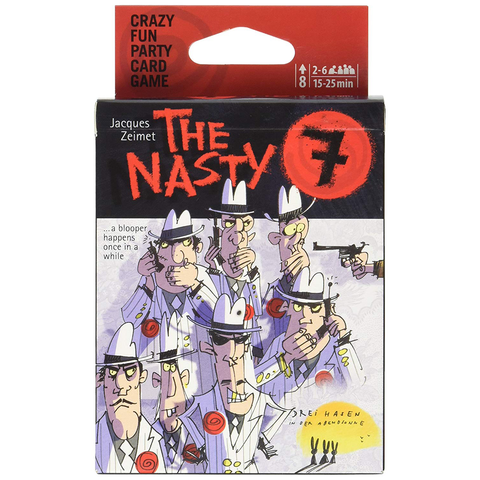 The Nasty 7 - Card Game (Lion Rampant Imports)