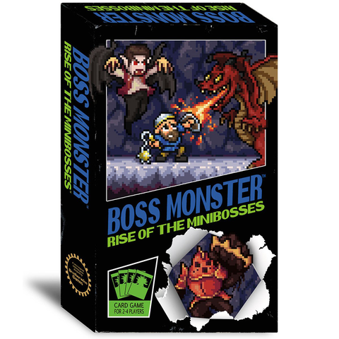 Boss Monster: Rise of the Minibosses - Card Game (Brotherwise Games)