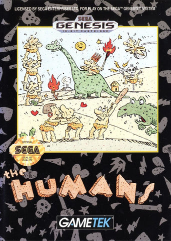 Humans, The (Sega Genesis, 1992)