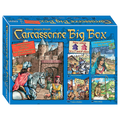 Carcassonne Big Box 5 - Board Game (Z-Man Games)