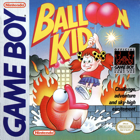Balloon Kid (Nintendo Game Boy, 1990)