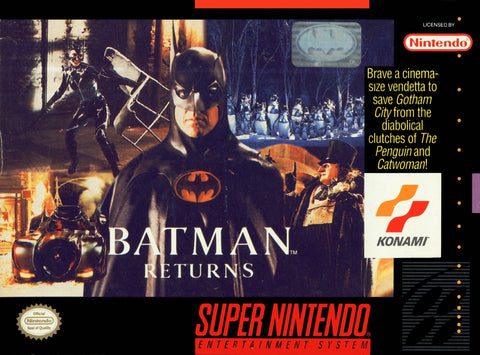 Batman Returns (Nintendo SNES, 1993)