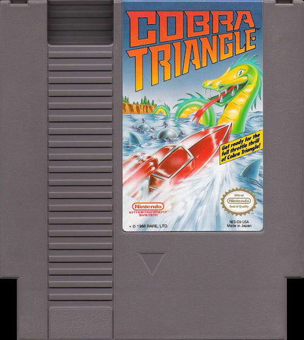 Cobra Triangle (Nintendo NES, 1989)