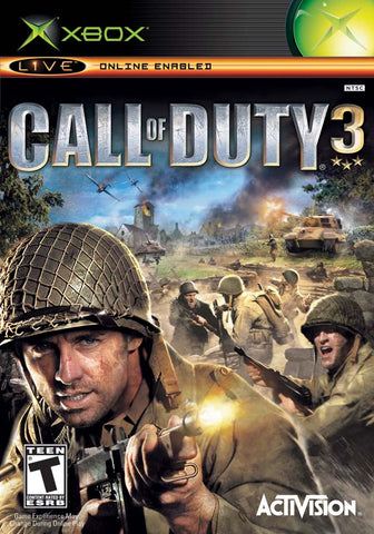 Call of Duty 3 (Microsoft Xbox, 2006)