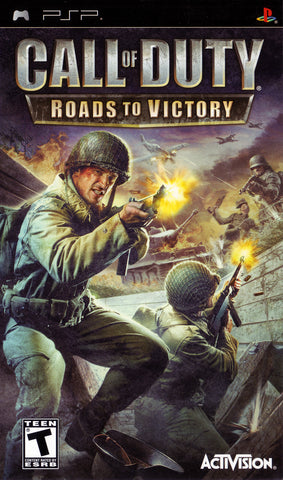 Call of Duty: Roads to Victory (Sony PlayStation Portable, 2007)