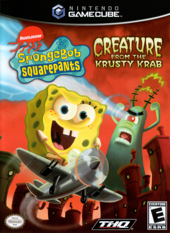 SpongeBob SquarePants: Creature from the Krusty Krab (Nintendo Gamecube, 2006)