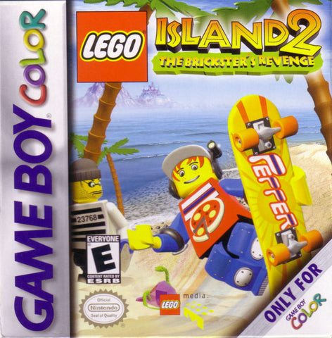 LEGO Island 2: The Brickster's Revenge (Nintendo Game Boy Color, 2001)