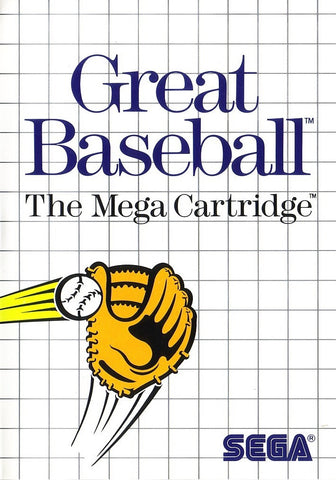 Great Baseball (Sega Master System, 1987)