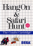 Hang On / Safari Hunt (Sega Master System, 1986)
