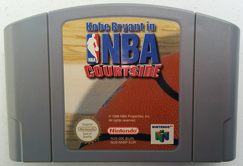 NBA Courtside (Nintendo N64, 1998)