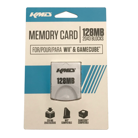 128MB Memory Card for GameCube/Wii (KMD)