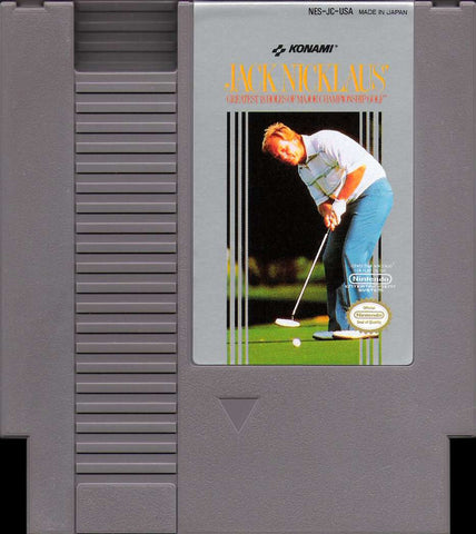 Jack Nicklaus' Greatest 18 Holes of Major Championship Golf (Nintendo NES, 1990)
