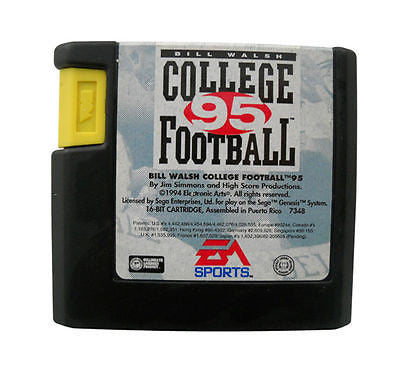 Bill Walsh College Football 95 (Sega Genesis, 1994)