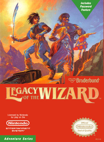 Legacy of the Wizard (Nintendo NES, 1989)