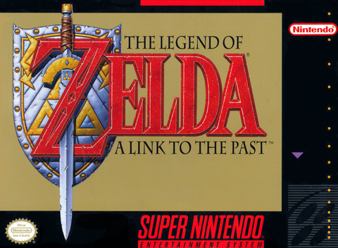 Legend of Zelda: A Link To The Past, The (Nintendo SNES, 1992)