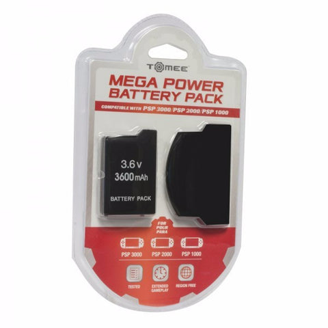 Mega Power Battery Pack 3600 mAh - PSP (Tomee)