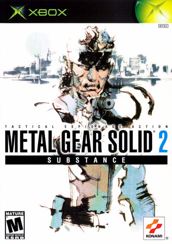 Metal Gear Solid 2: Substance (Microsoft Xbox, 2002)