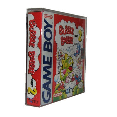 Plastic Protector for Game Boy Boxes
