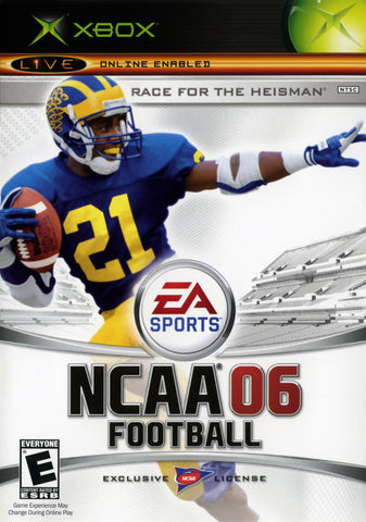 NCAA Football 2006 (Microsoft Xbox, 2005)
