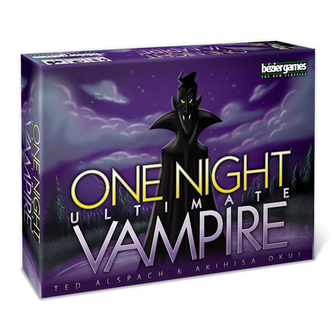 One Night Ultimate Vampire - Card Game (Bézier Games)