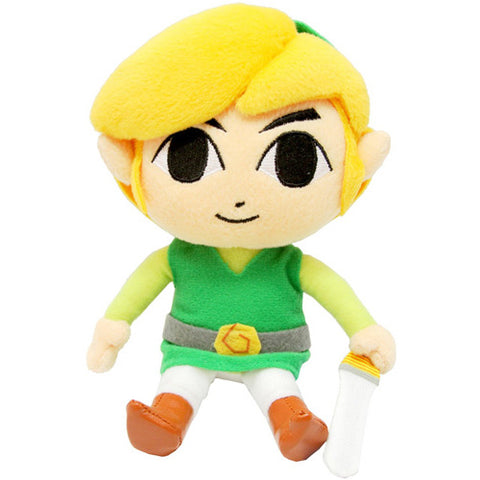 "Legend of Zelda: Wind Waker HD Link 8"" Plush - Plush (Little Buddy)"