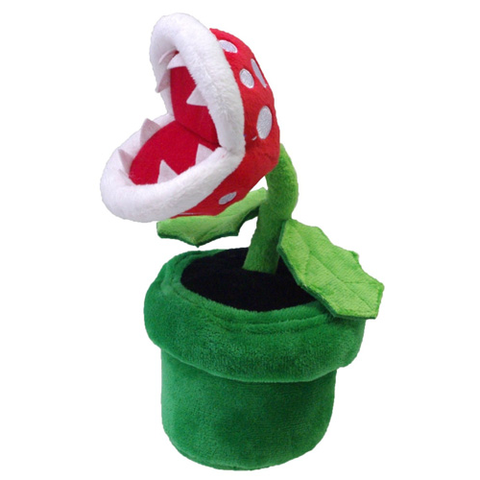 "Piranha Plant 8"" Plush - Plush (Little Buddy)"
