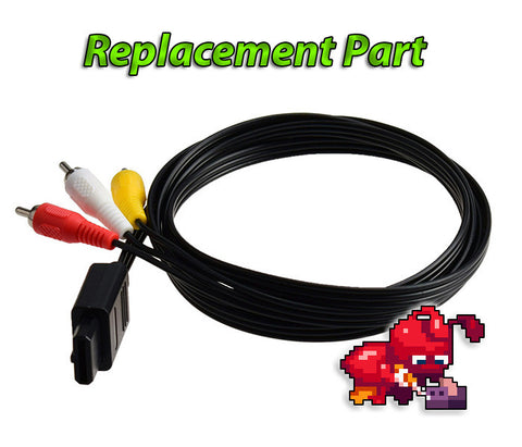 Replacement Parts: New SNES/N64/Gamecube Analog AV Cable
